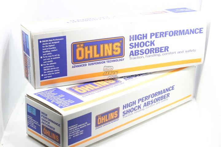 Ohlins Coilover Suspension Complete Kit Type HAL DFV Rubber Upper Mounts - ER34