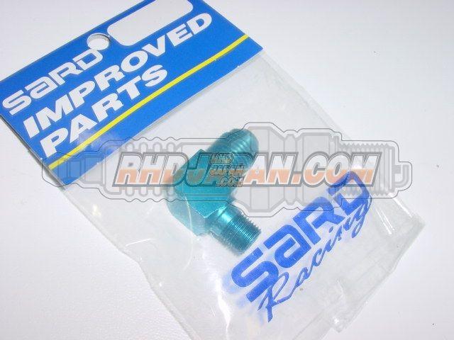 Sard Fuel Pressure Regulator Adapter Nipple - Elbow AN#6