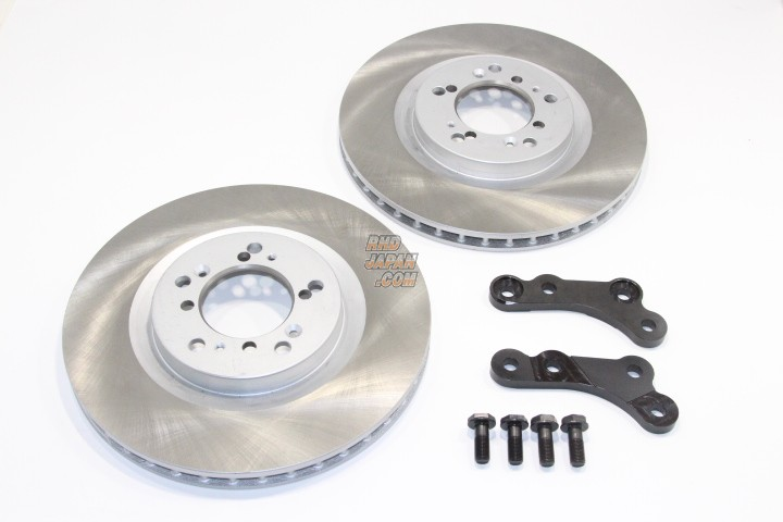 Rubber Soul Brake Rotor Bracket Kit No-Slit Dixcel - Hakosuka Kenmeri