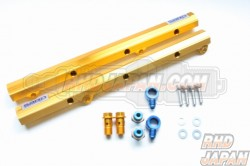 Sard Aluminum Fuel Rail Delivery Pipe Set - Z33