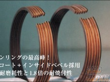 Kameari SPL Piston Ring Set L6 Titanium Coating 89.5 Forged - Racing