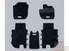 Mugen Sports Floor Mat Black - RU1 RU2 RU3 RU4