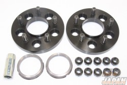 RAYS Ray Sport Hubcentric Spacer Japanese Vehicle 5H-100 M12X1.5 - 15mm 64.9X60.1
