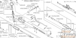 Nissan OEM Cylinder Tube Assembly - S14