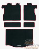 Mugen Sports Luggage Mat Black Red - GP5 GP6