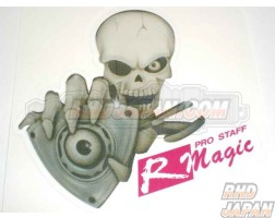 R-Magic Skull Rotor Sticker