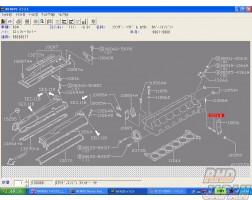 Nissan OEM Rear Engine Slinger Stud 05U00