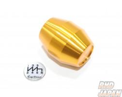 Top Secret Shift Knob Short Type 6MT Gold - M12x1.25
