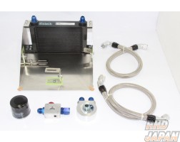 TBS Oil Cooler Kit with Sensor Fittings - SW20