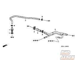 Honda OEM Clamp Tube - FD2